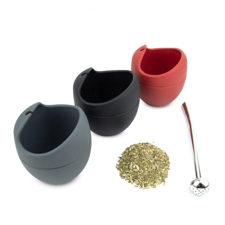 Silicone tea cups product photography