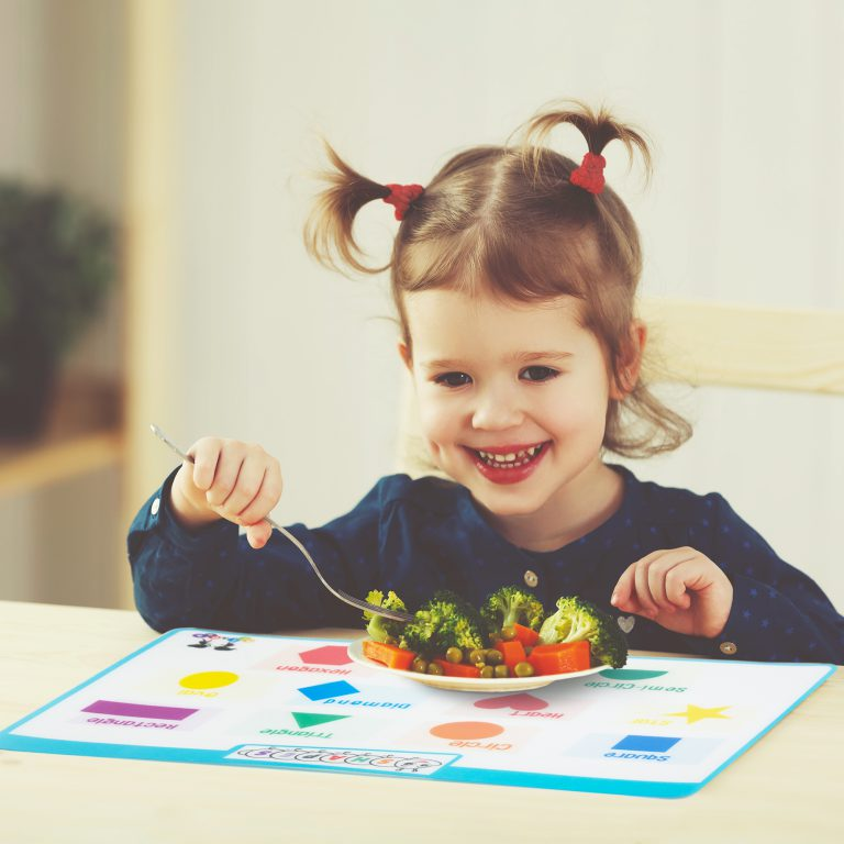 Placemats for kids product photography