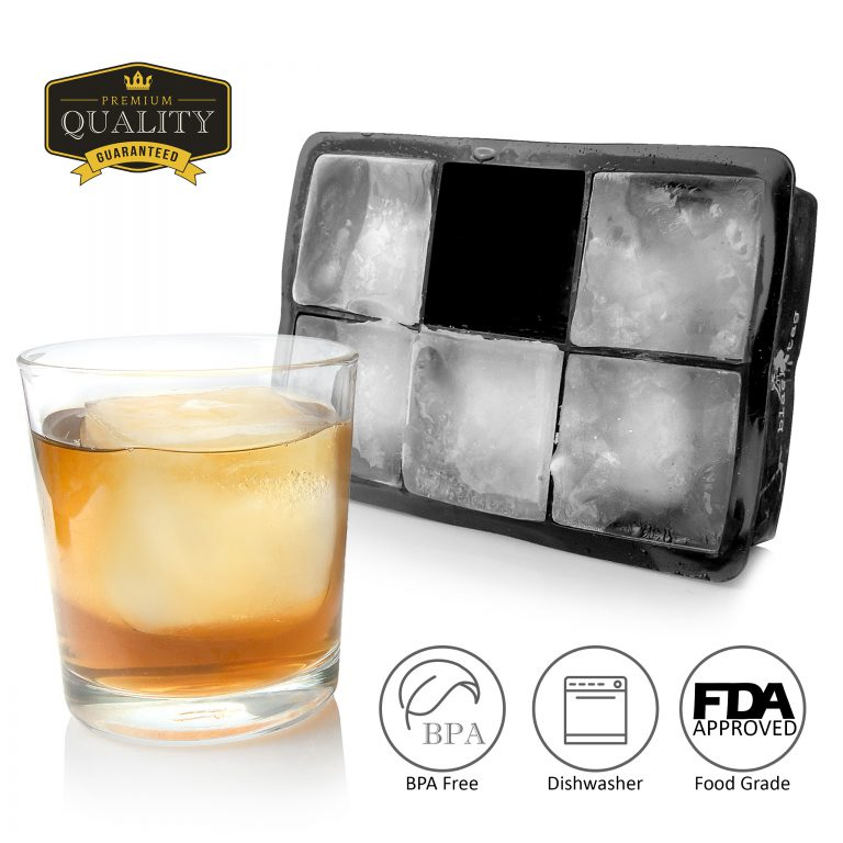 Product Photographer for Amazon – Ice cube trays with infogrpahic