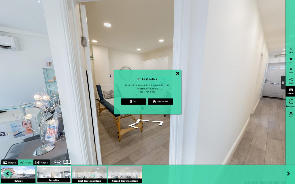 Bespoke virtual tour